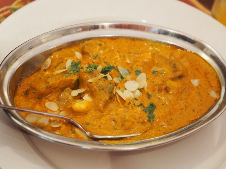 """Chicken"" korma med chick free"