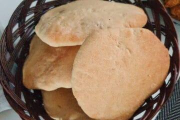 Pitabrød med fuldkorn