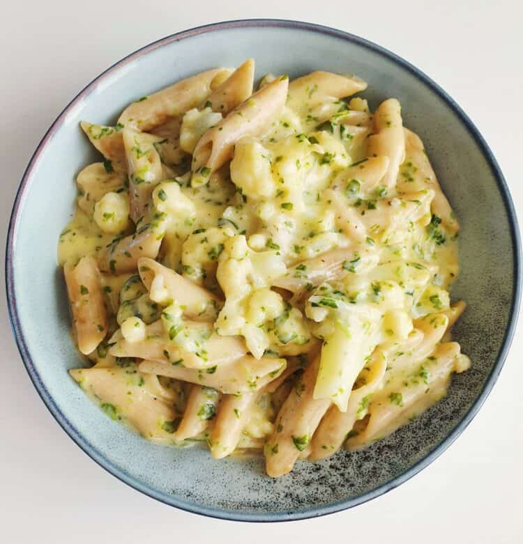 mac'n'cheese med blomkål