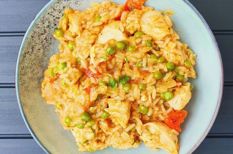One pot risret med chimichurri kylling