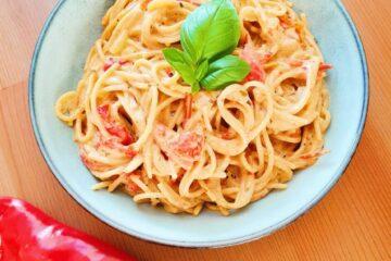 one pot pasta peberfrugt