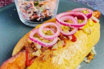 hotdog med fuldkorn