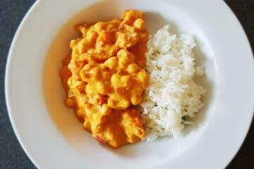 Curry kikærter