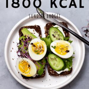Sund på budget kostplan 1800 kcal