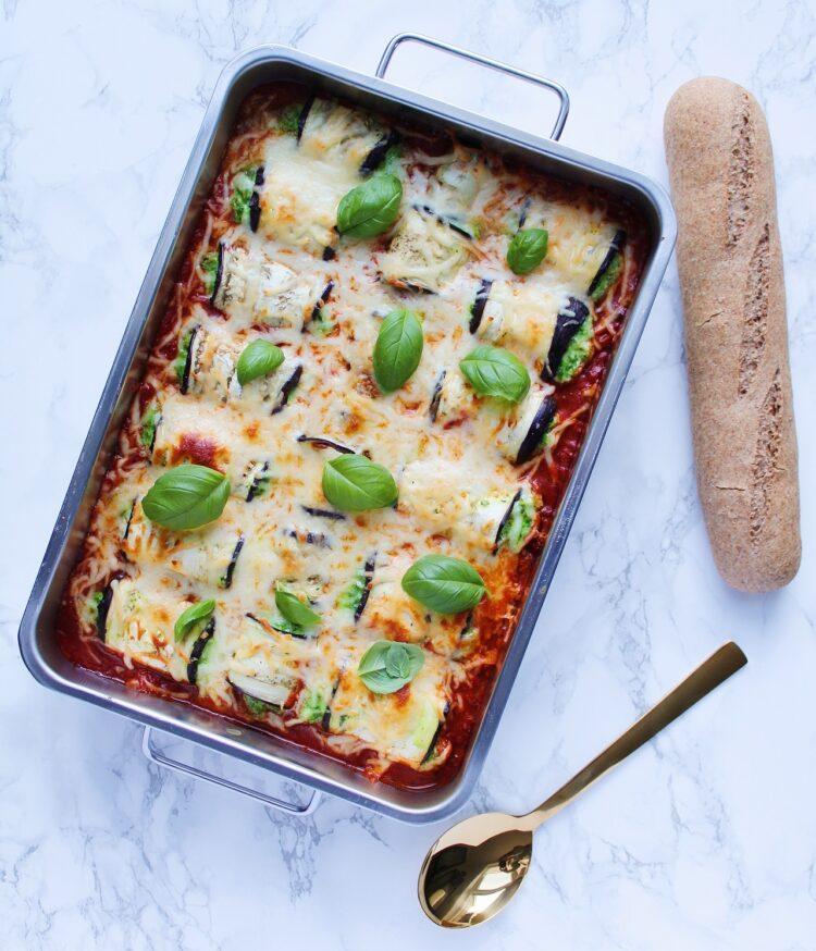 cannelloni ala aubergine
