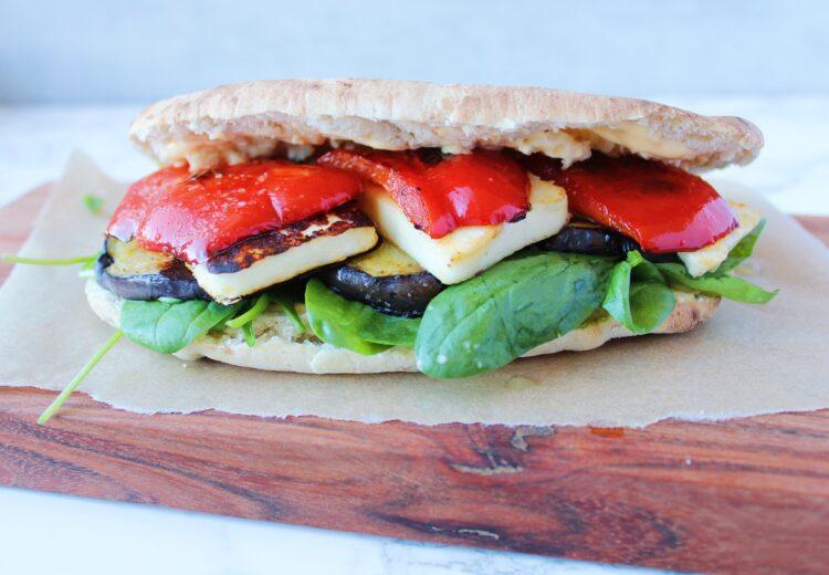 vegetar sandwich grillost