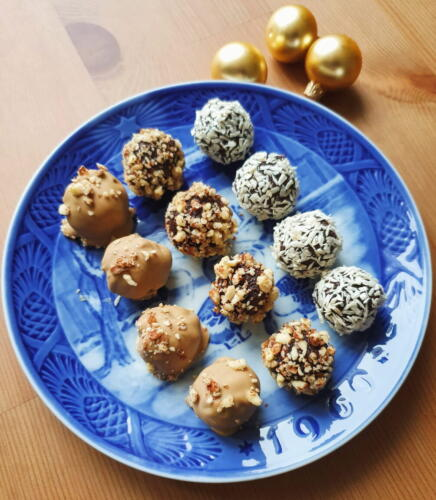 Sundre alternativ til konfekt: Jule dadelkugler