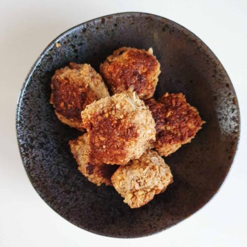 Sundt alternativ til julefrokostbordet: Kyllingefrikadeller med kikærter
