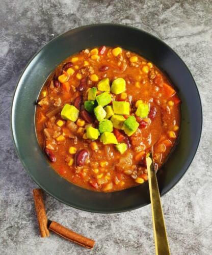 Mexicansk suppe med oksekød