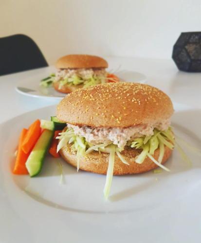 Sandwich med torskerognssalat