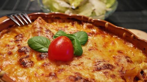Hjemmelavet lasagnette