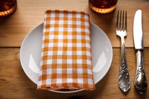 Hamburgerryg m. kartofler, blomkål og aspargessauce