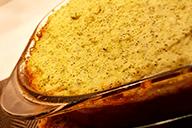 Oksekød m. kartoffel/blomkålslåg